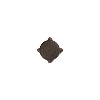 Pinnapealne harutoos, antiikne metall, pruun D 108mm, Fontini