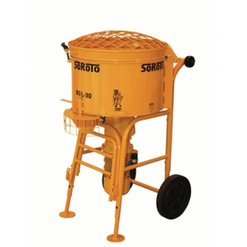 Forced action mixer 80l