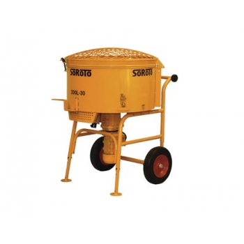 Forced action mixer 200l