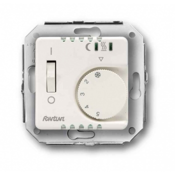 Põrandakütte termostaat 1A/220V, VENEZIA/GARBY, valge