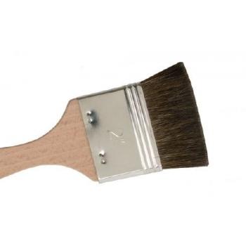 Pintsel, ponikarvast, lühikese karvaga, 7 cm