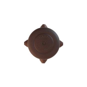Pinnapealne harutoos, antiikne metall, pruun D72MM