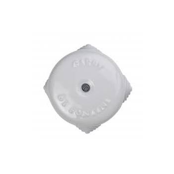 Pinnapealne harutoos, D72mm, valge portselan, Fontini