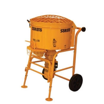Forced action mixer 100l