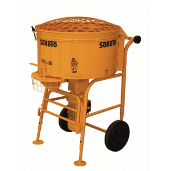 Forced action mixer 120l