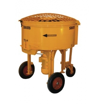 Forced action mixer 300l