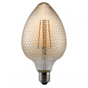 Pirn, relj käbi, vaigukarva klaas. LED 2W 200lm