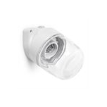 Lisilux wall-mounted fitting with clear glass 75 W