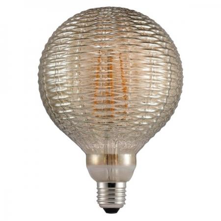 Pirn, relj bambuskera, suitsukarva klaas. LED 2W 130lm