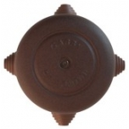 Pinnapealne harutoos, antiikne metall, pruun D72MM, Fontini