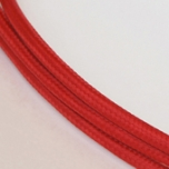 Textile cable nr.50, red, 1m