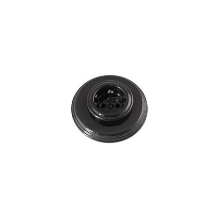 Black oullet porcelain, Fontini