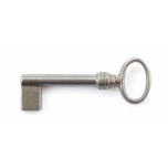 Key blank for furniture lock, 65mm
