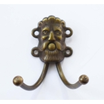 "Coat and hat hook, ""Old man"", small 60x68mm"