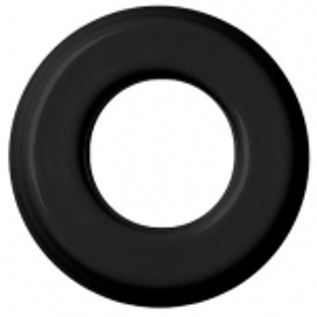 Frame, porcelain, black, Fontini