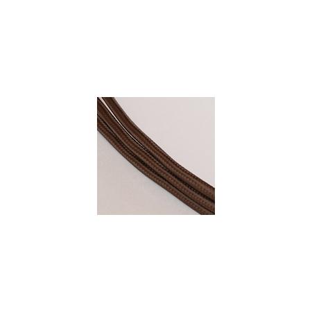 Tekstiiljuhe nr. 111, tume šokolaad, 1m