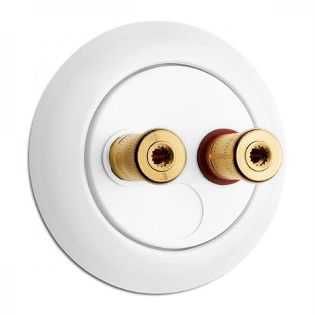 Speaker wall socket WBTduroplast
