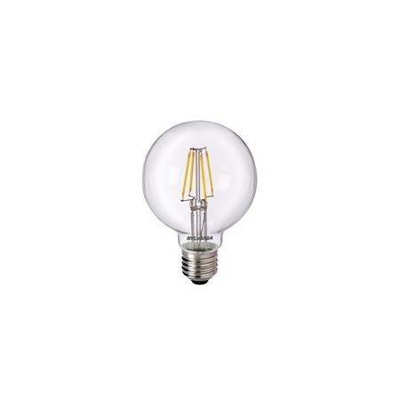 Pirn, kera, retro LED keskmine. 4W 470lm