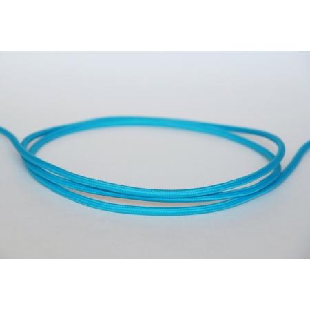 Tekstiiljuhe nr. 61, türkiis-sinine, 1m
